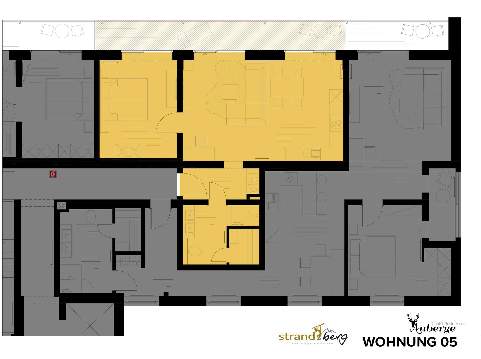 Wohnung 05 Grundriss