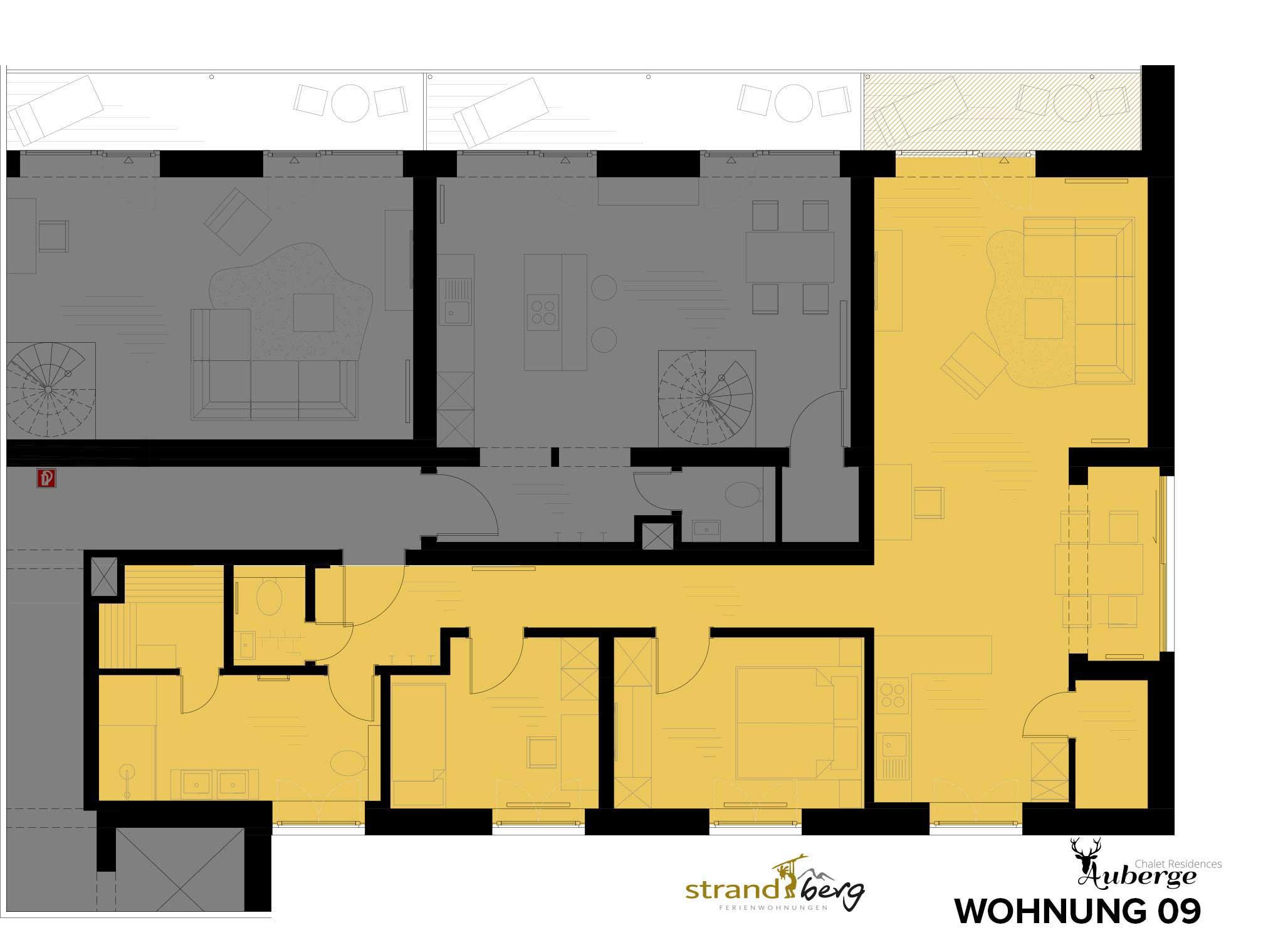 Wohnung 09 Grundriss