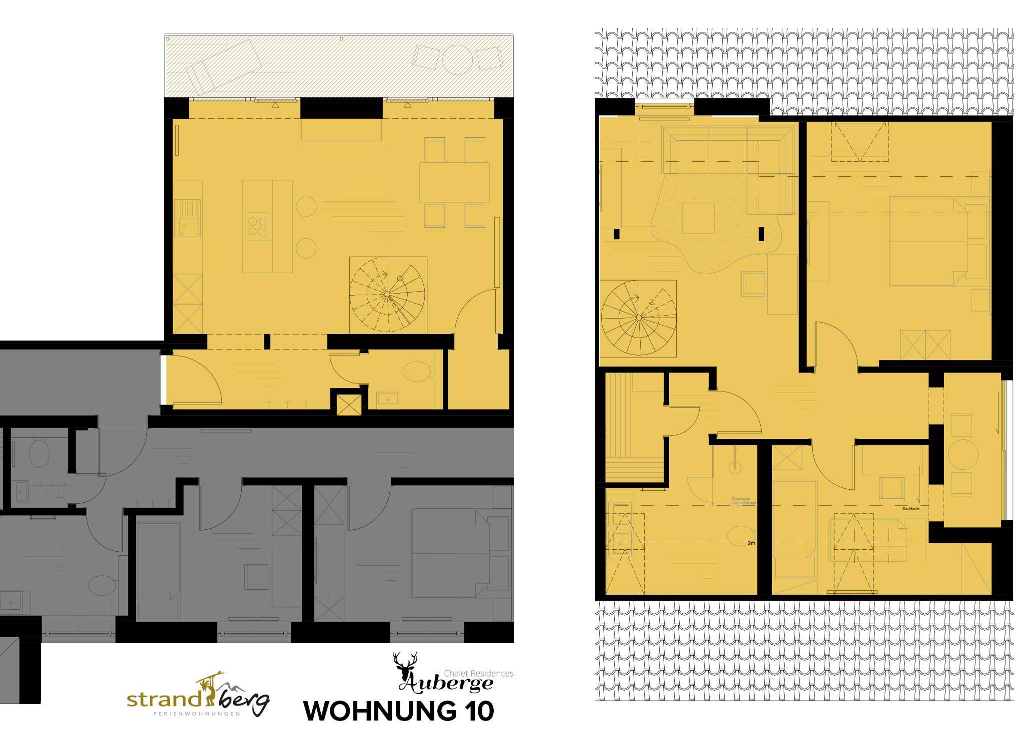 Wohnung 10 Grundriss