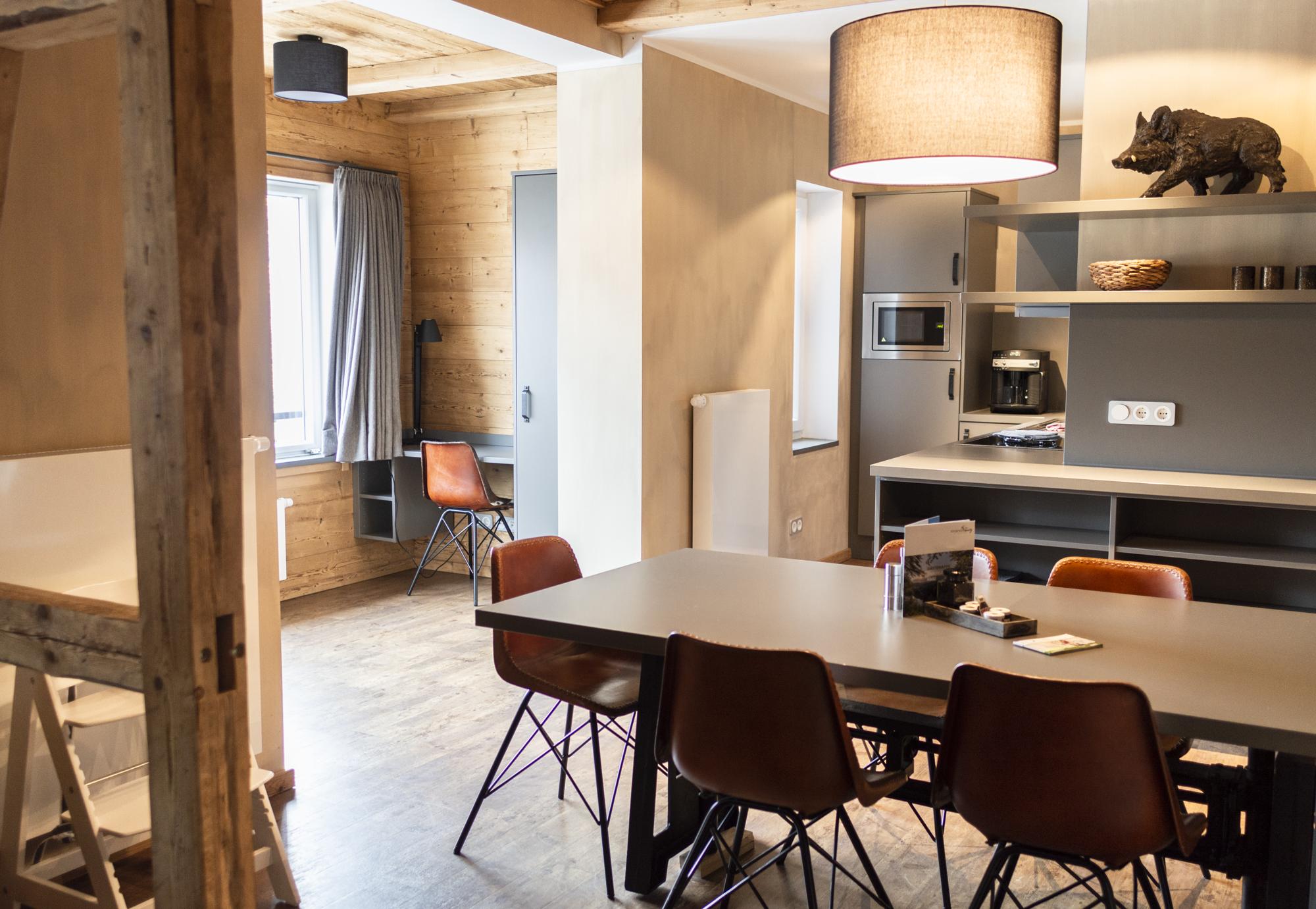Die Hütten 550 üNN Appartement 02