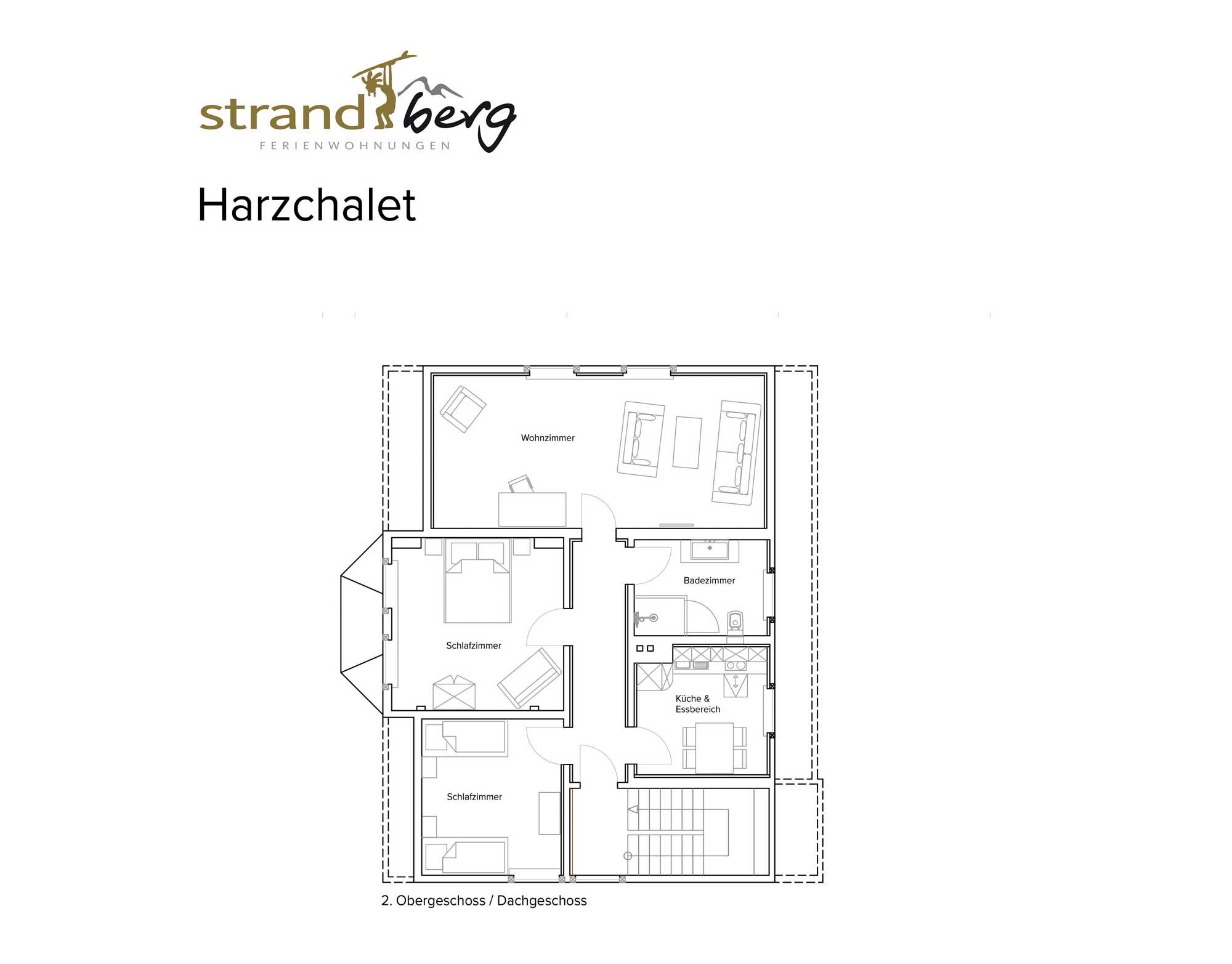 Harzchalet 02 - Grundriss