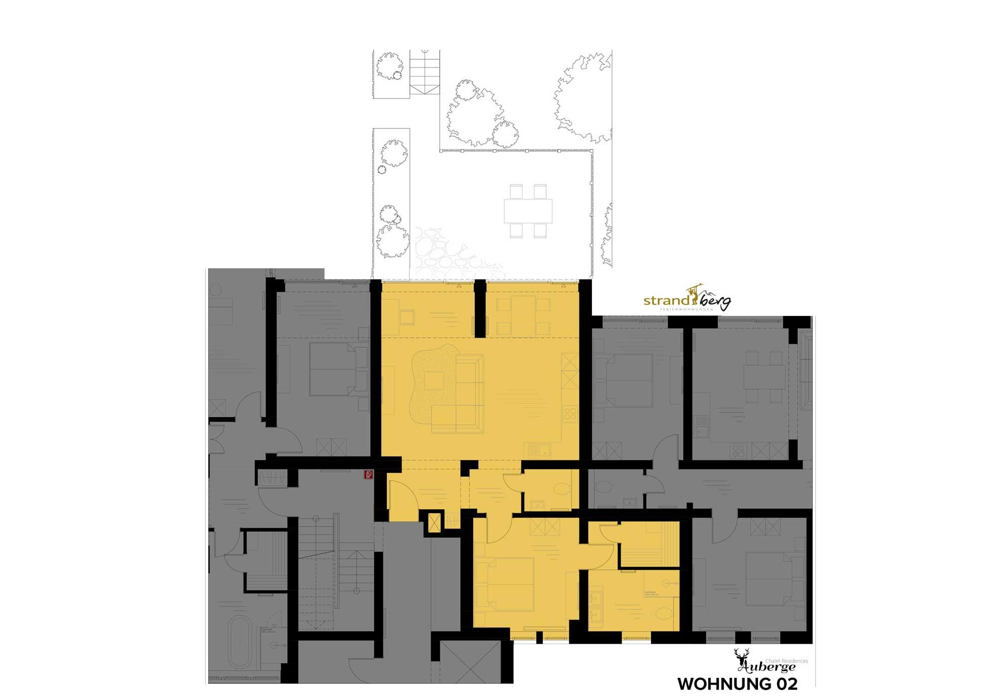 Wohnung 02 Grundriss