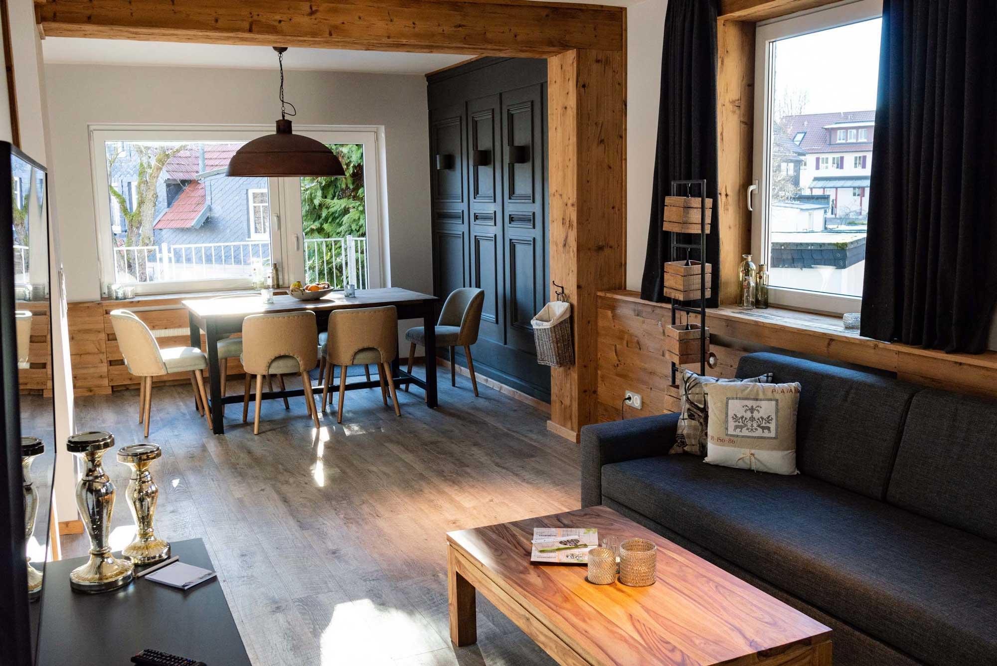 Die Hütten 550 üNN Appartement 04